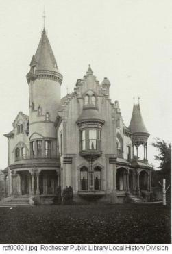 Warner Mansion in 1879