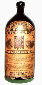 Animal Cure with Label