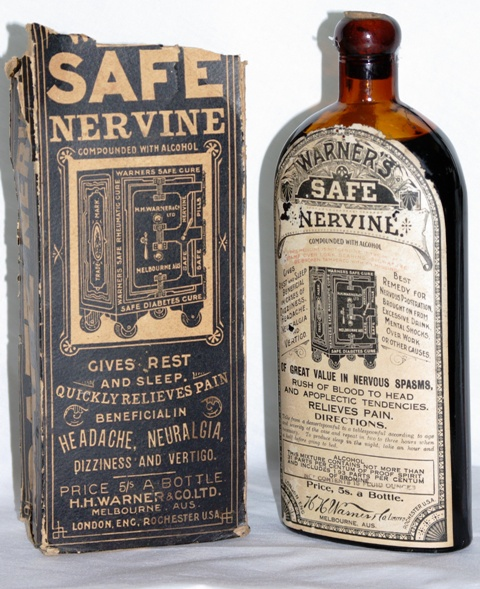 H. H. Warner & Co. Ltd. w/ Nervine Label