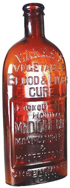 Baker's Vegetable Blood & Liver Cure