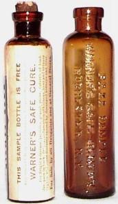Warner's Safe Cure Free Sample