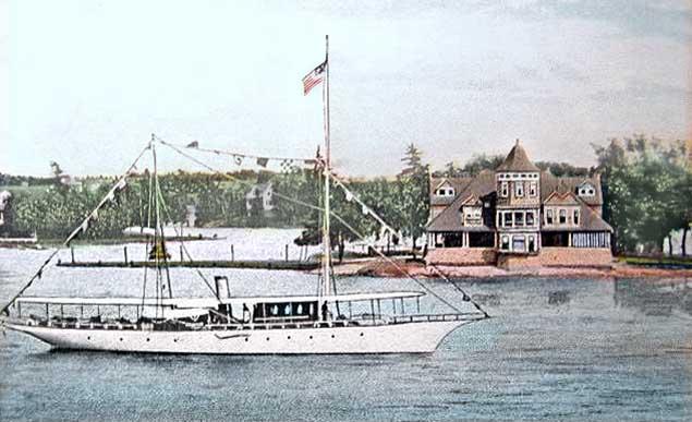 Warner's Cottage on the St. Lawrence River