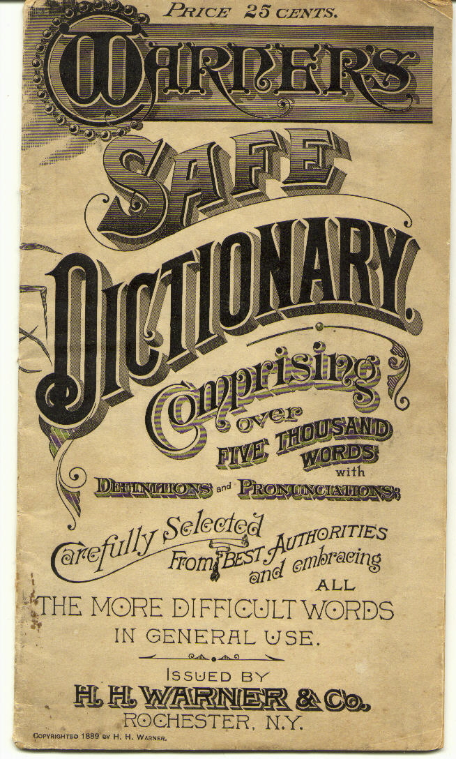 Warner's Safe Dictionary