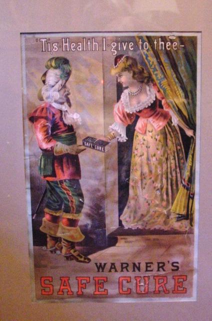 Warner's Safe Cure Advertising Poster (1888)