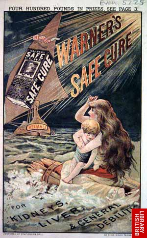 Warner's Safe Cure Life Raft