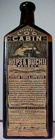Warner's Log Cabin Hops & Buchu Remedy