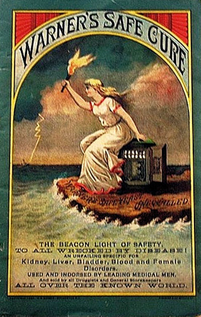 1887 Beacon Light of Safety Almanac