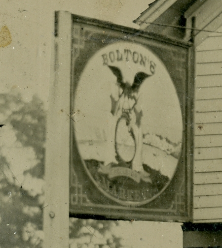 Bolton's Meat Market (Safe Cure Sign) 2