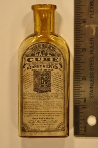 London Safe Cure Sample with Label