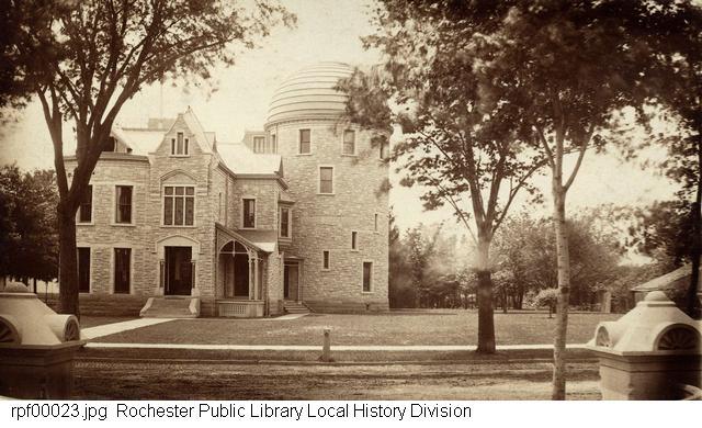 The Warner Observatory in 1883