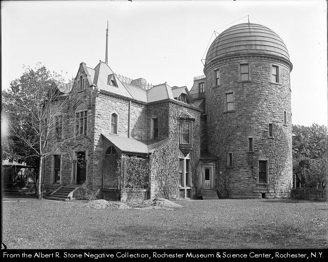 The Warner Observatory in 1910
