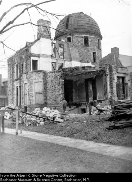 The Demolition of the Warner Observatory in 1939