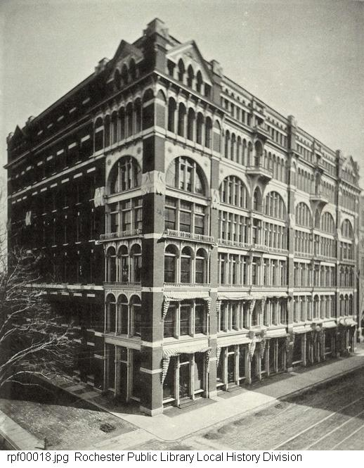 Warner's Safe Remedies Building in 1884