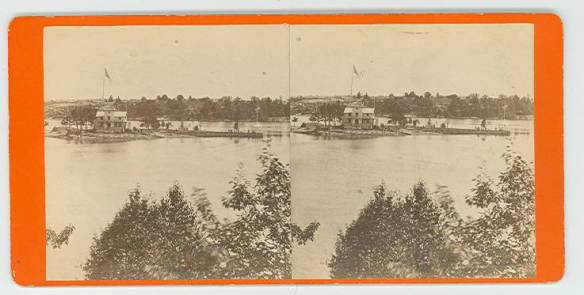 Warner Island Stereoscopic Slide