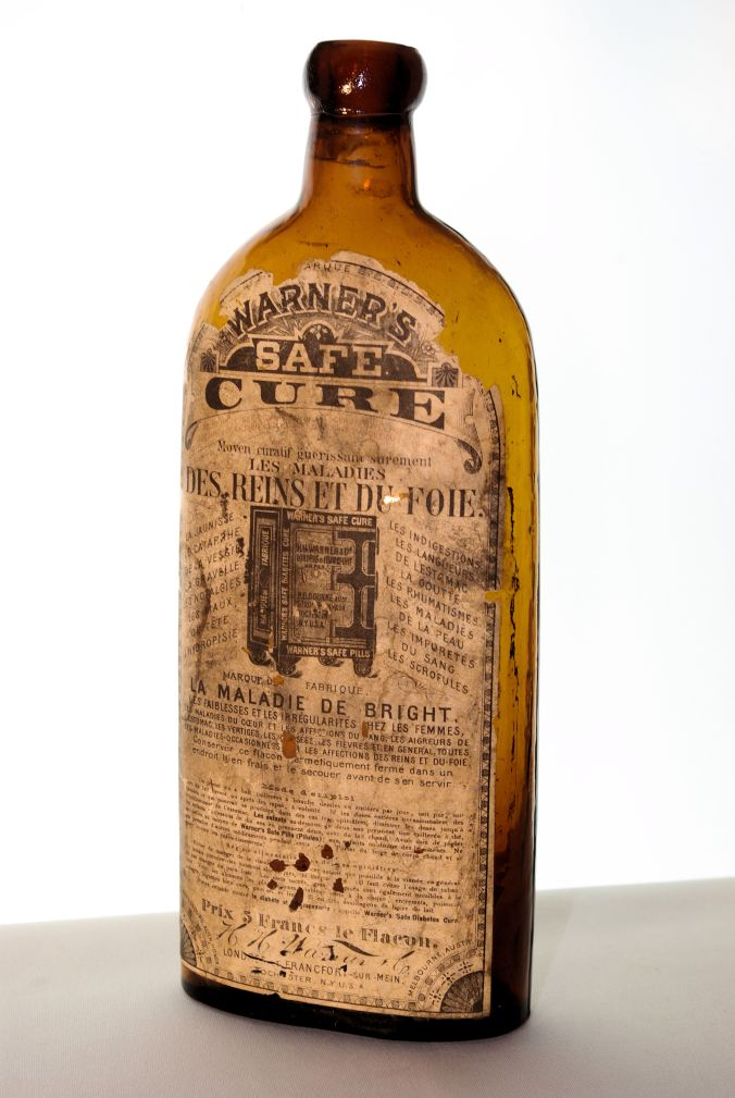 Warner's Safe Cure with French Label
