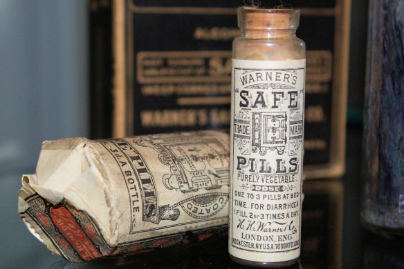 Warner's Safe Pills London (2015)