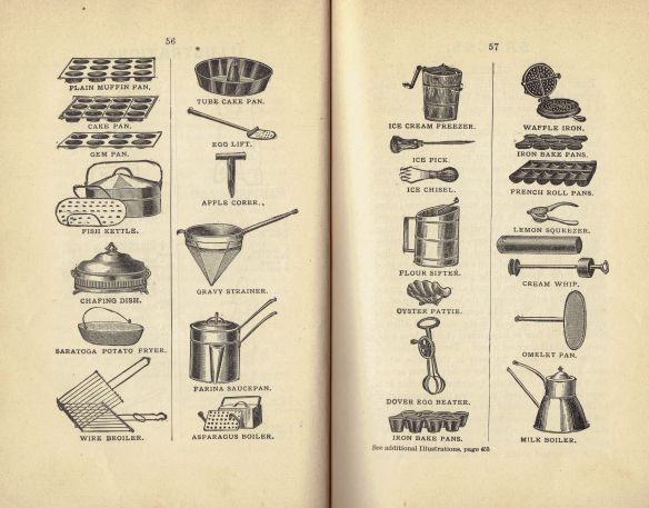 1891 Warner's Safe Cookbook (5th Ed. 1891)(Utensils)