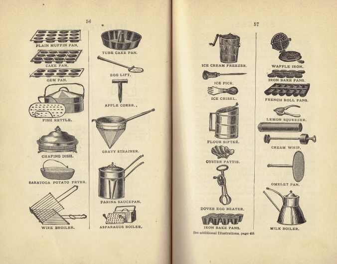 1891 Warner's Safe Cookbook (5th Ed. 1891)(Utensils)