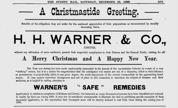 The Sydney Mail - Dec 20 1890 - A Christmastide Greeting 1