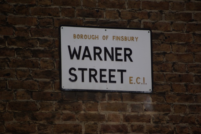 Warner Street, London EC1