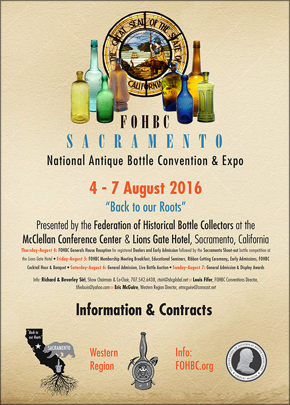 Sacramento National Antique Bottle Show & Convention