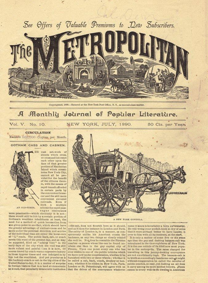 The Metropolitan (July 1890)